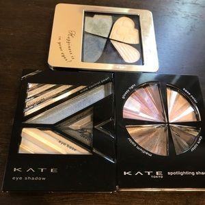 Japanese eyeshadow Kate and Integrate blue purple